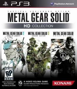 MGS HD Colletion Cover