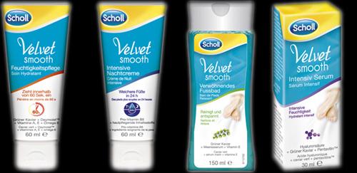 Scholl-velvet-smooth-Fussprodukte