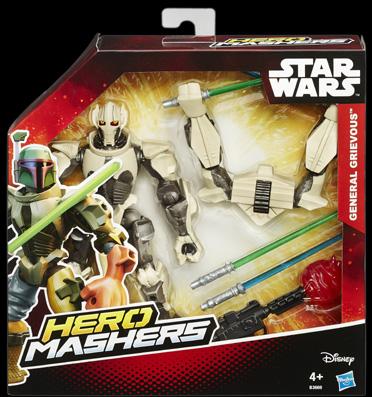 Star Wars Hero Mashers Deluxe Figuren General Grevious Pack