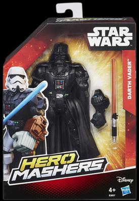Star Wars Hero Mashers Figuren Darth Vader Pack