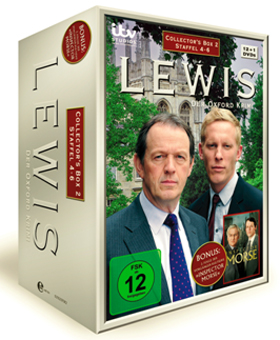 Serie Auf Dvd Lewis Der Oxford Krimi Collectors Box 2 Ab